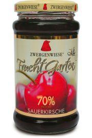 Mus Wiśniowy (70% Owoców) Bezglutenowy Bio 225 G - Zwergenwiese
