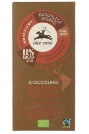 Czekolada Gorzka Z Kawałkami Kakao Fair Trade Bio 100 G - Alce Nero
