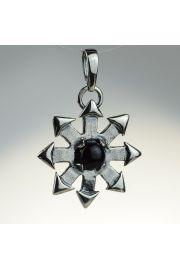 Gwiazda Chaosu z onyksem, srebro
