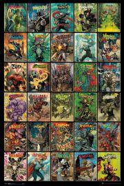 DC Comics Czarne Charaktery Forever Evil - plakat