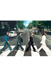 The Beatles abbey road - plakat 3D