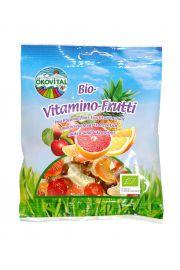 Eko żelki owocowo-witaminowe z bio-żelatyną 100g OEKOVITAL