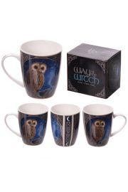Kubek ceramiczny, magiczna sowa