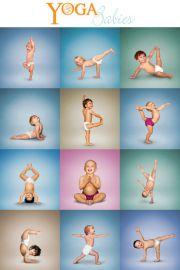 Yoga Niemowlaka - plakat
