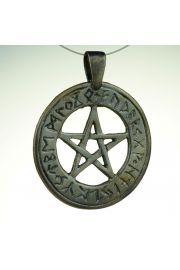 Pentagram runiczny, brąz