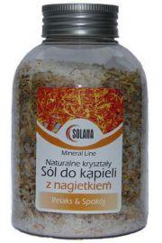 Naturalna sól kąpielowa z nagietkiem, 500g