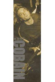 Nirvana Kurt Cobain Brown - plakat