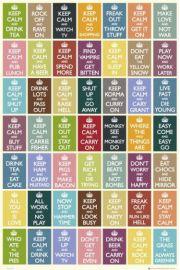 Keep Calm Kompilacja Najlepszych Tekst�w - plakat
