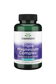 Swanson Triple Magnesium Complex (Kompleks 3 Magnezów) 100 kaps.