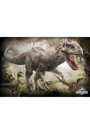 Jurassic World Jurajski Park Raptory - plakat