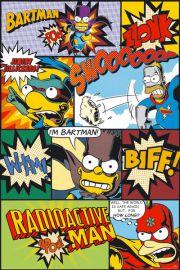 The Simpsons - Komiks Simpsonowie - plakat