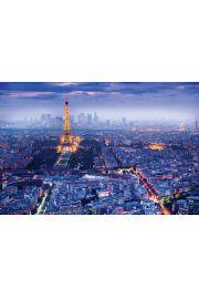 Paryż - Panorama Wieża Eiffel - plakat
