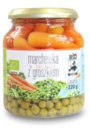 Marchewka W Zalewie Z Groszkiem W S�oiku Bio 340 G (220 G)- Bio Europa