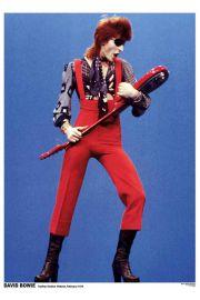 David Bowie Holandia 1974 - plakat