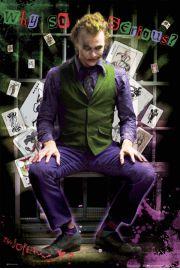 Batman Mroczny Rycerz Joker jail - plakat