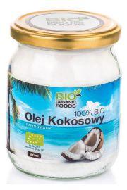 BIO Olej kokosowy rafinowany 500 ml