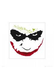Batman Mroczny Rycerz Joker grin - reprodukcja