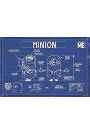 Minionki Rozrabiają - Budowa Minionka - plakat