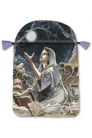 Satynowy woreczek Pagan (na karty tarota)