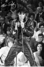 Elvis Presley 1968 special comeback - plakat