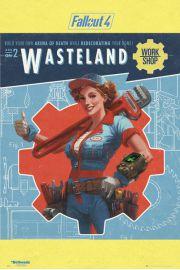 Fallout 4 Wasteland - plakat