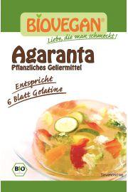 Agaranta (Środek Żelujący) Bezglutenowa Bio 3 X 6 G - Bio Vegan