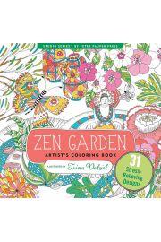 Kolorowanka Artystyczna Ogród Zen