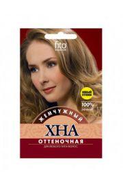 Henna koloryzująca do włosów - perłowy FIT Fitocosmetic
