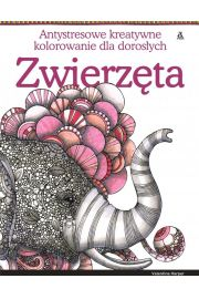Zwierzęta Antystresowe kreatywne kolorowanie dla dorosłych
