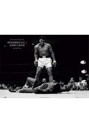 Muhammad Ali kontra Liston Boks - plakat