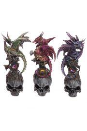 Smoki Dark Legends - Czarna czaszka