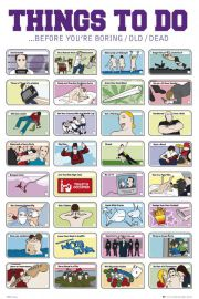 Rzeczy do Zrobienia w Twoim Życiu - plakat motywacyjny