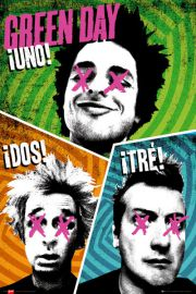 Green Day - Trio - Uno, Dos, Tre - plakat