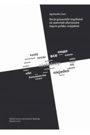 Zarys gramatyki uogólnień na materiale aforyzmów (ujęcie polsko-rosyjskie)