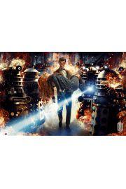 Doctor Who Asylum Of The Daleks - plakat
