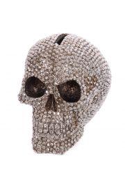 Skarbonka - czaszka z biżuterią
