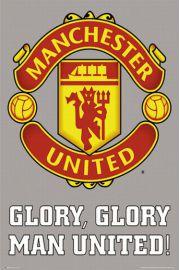 Manchester United - Godło Klubu - plakat