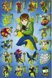 Ben 10 Alien Force Kompilacja - plakat