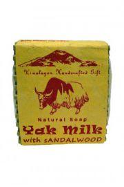 Mydło Yak Milk with Sandalwood - Mleko Jaka z Sandałem