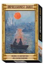 Zestaw Tarot Impresjonistów (karty i książka) - Impressionist Tarot Kit