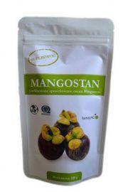 """Organiczny Mangostan """"super orac"""" - sproszkowane liofilizowane owoce mangostanu - 100g"""