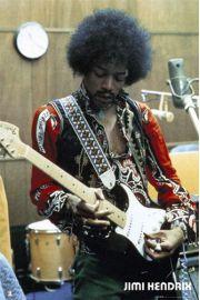 Jimi Hendrix Studio - plakat