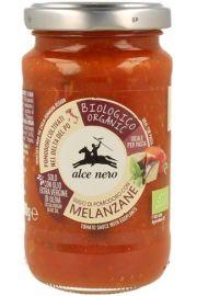 Sos Pomidorowy Z Grillowanym Bakłażanem Bio 200 G - Alce Nero