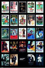 James Bond Kolekcja - plakat