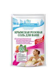 Sól do kąpieli krymska różowa, antycellulitowa Fitocosmetic