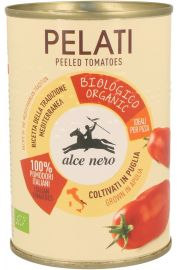Pomidory Pelati Bez Skóry W Puszce Bio 400 G - Alce Nero