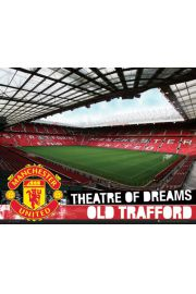 Manchester United Stadion Old Trafford - plakat