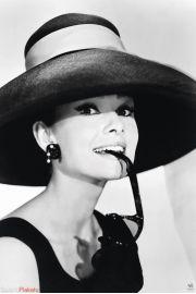 Audrey Hepburn Okulary - plakat