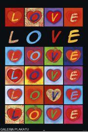 Mi�osne Serca - Love Hearts - plakat