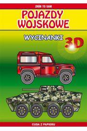 Pojazdy wojskowe. Wycinanki 3D
